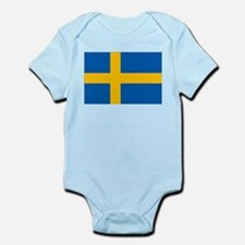 Sweden Flag Infant Bodysuit