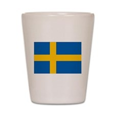 Sweden Flag Shot Glass