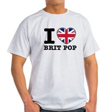 I love Brit Pop T-Shirt