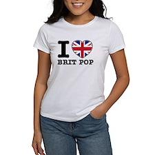 I love Brit Pop Tee
