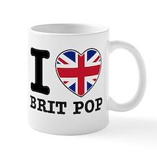 I love Brit Pop Mug