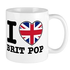 I love Brit Pop Mug