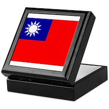 Taiwan Flag Keepsake Box