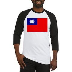 Taiwan Flag Baseball Jersey