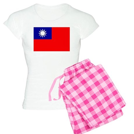 Taiwan Flag Women's Light Pajamas