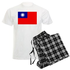 Taiwan Flag Pajamas