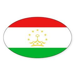 Tajikistan Flag Decal