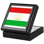 Tajikistan Flag Keepsake Box