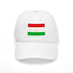 Tajikistan Flag Baseball Cap
