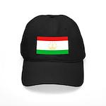 Tajikistan Flag Black Cap