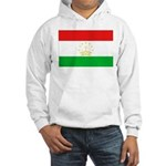 Tajikistan Flag Hooded Sweatshirt