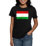 Tajikistan Flag Women's Dark T-Shirt
