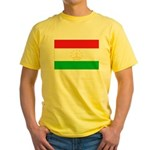 Tajikistan Flag Yellow T-Shirt