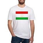 Tajikistan Flag Fitted T-Shirt