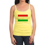 Tajikistan Flag Jr. Spaghetti Tank