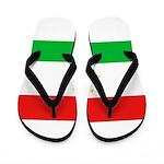 Tajikistan Flag Flip Flops