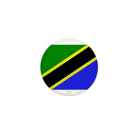 Tanzania Flag Mini Button (100 pack)