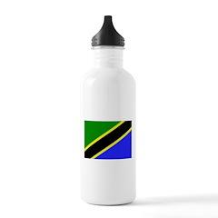 Tanzania Flag Water Bottle
