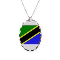 Tanzania Flag Necklace