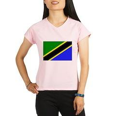 Tanzania Flag Performance Dry T-Shirt