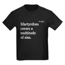 Mark Twain, Martyrdom, T