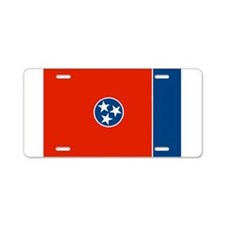 Tennessee Flag Aluminum License Plate