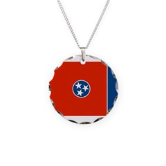 Tennessee Flag Necklace