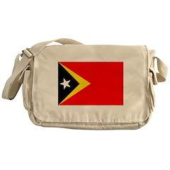 Timor Leste Flag Messenger Bag