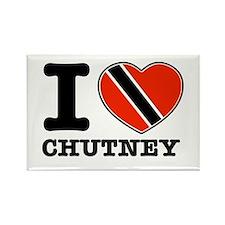 I love Chutney Rectangle Magnet (100 pack)