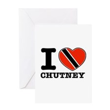 I love Chutney Greeting Card