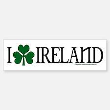 I Shamrock Ireland Bumper Bumper Bumper Sticker