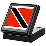 Trinidad and Tobago Flag Keepsake Box