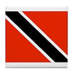 Trinidad and Tobago Flag Tile Coaster