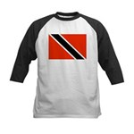 Trinidad and Tobago Flag Kids Baseball Jersey