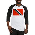 Trinidad and Tobago Flag Baseball Jersey