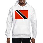 Trinidad and Tobago Flag Hooded Sweatshirt