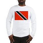 Trinidad and Tobago Flag Long Sleeve T-Shirt