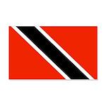Trinidad and Tobago Flag 22x14 Wall Peel