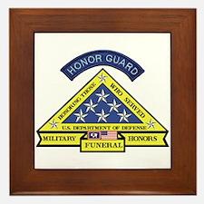 Honor Guard Framed Tile