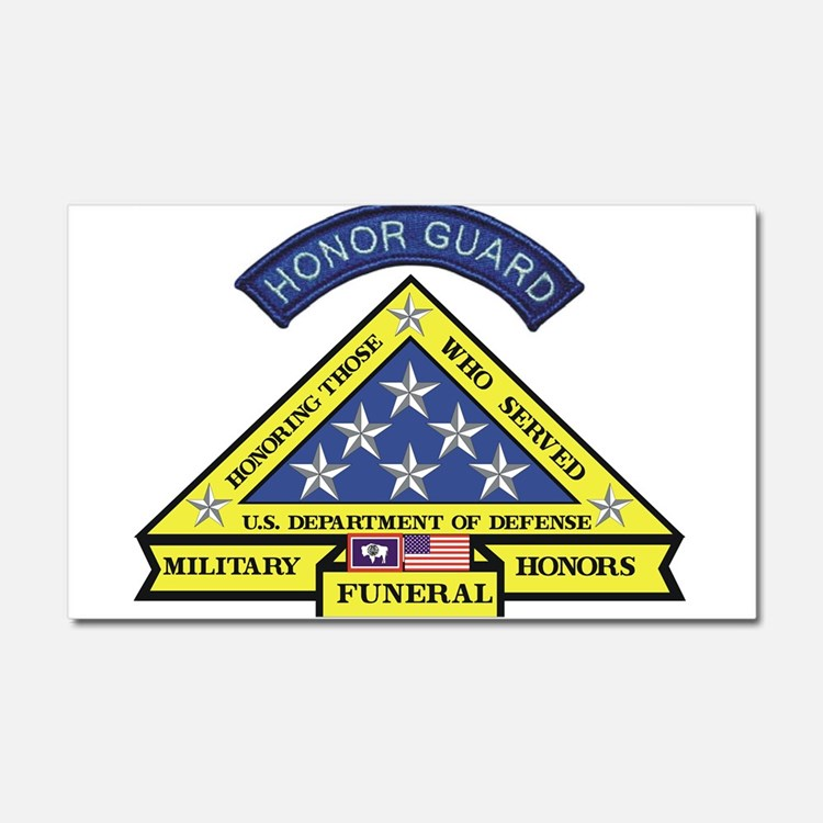 Honor Guard Car Magnet 20 x 12