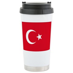 Turkey Flag Travel Mug