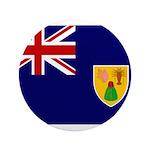 Turks and Caicos Flag 3.5
