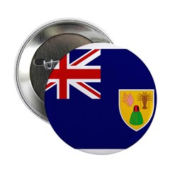 "Turks and Caicos Flag 2.25"" Button (100 pack)"