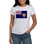 Turks and Caicos Flag Women's T-Shirt