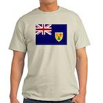 Turks and Caicos Flag Light T-Shirt