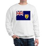 Turks and Caicos Flag Sweatshirt
