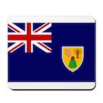 Turks and Caicos Flag Mousepad