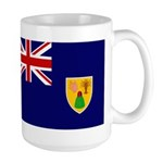 Turks and Caicos Flag Large Mug