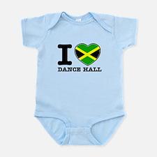 I love Dance Hall Infant Bodysuit