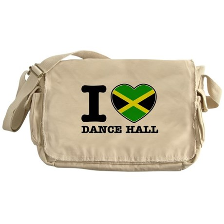 I love Dance Hall Messenger Bag